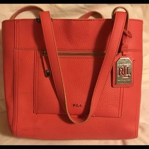 Ralph Lauren Tote Bag Pink